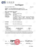 RoSH Report for Blue Anodizing