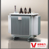 S11-50kva electric power oil immersed transformer