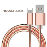 2 in 1 Charging and Sync Nylon Insulated USB Cable
