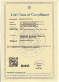 Heavy Duty HD PTZ Camera RoHS Certificate