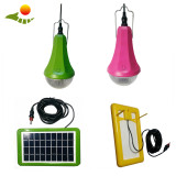 Hot selling solar kit solar rechargeable lamp with remote 3W led light SRE-99G-1