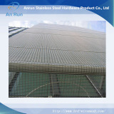stainless steel wire rope mesh as facade