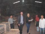 Client visit culture stone factory