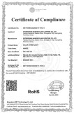 Nande Certificate of Compliance