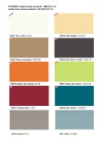 PVC coated steel sheet-Initial color series