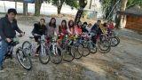 rode a bike