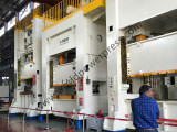 buyer visiting JX36 stamping press