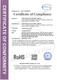 Rohs Certificate of Par Light