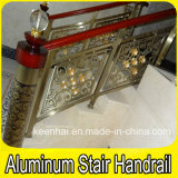 Luxury Aluminum Bronze Color Stair Handrail