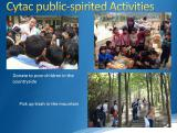 Cytac Public-Spirit Activities