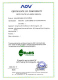 RoHS Certificate of ONTIME