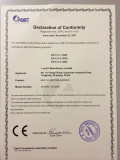 MULTI-PURPOSE LADDER CERTIFICATE -2