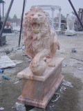 Finish Product of Cloud Pink Marble
