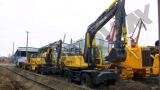SWEL150 Wheel Excavator to Uzbekistan