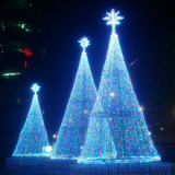 Led new RGB Christmas Tree Light for 2014 christmas decoration BW-CBT-011