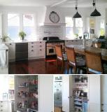 Perth House Project U Shape Large Kitchen Cabinets