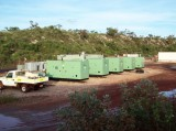 Huihe Gensets Applied at the site of mining in (WA) Australia