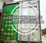 Color Carton Package of Insecticide Loading