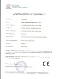 CE Certificate of Life Jacket