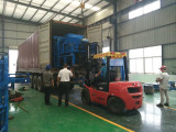 ZCJK block making machine shipped to South Africa