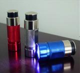 Auto emergency use car rechargeable mini led flashlight