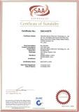 LED Light SAA certificate