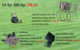 Special Products for April, 2015