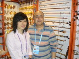 Egyptian customer and me