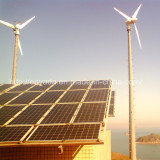 20KW wind solar hybrid system installed in Sichuan Provice, China.