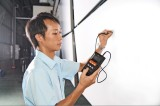 Coating thickness checker