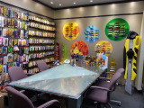 Shenzhen Tung Hing Hong Kong headquarter cutters samples room