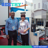 Clinch a deal the customers in the Canton fair Ruby