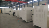 10 sets silent type Perkins diesel generators were deliveried to Qatar