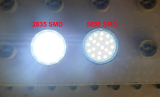 GU10 Light Difference Between 2835SMD and 5050SMD