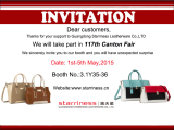 117th Canton Fair, See you there!