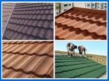 Factory Direct Selling Aluminum Zinc Stone Coated Roof Tile