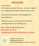 March HongKong Jewelry Show