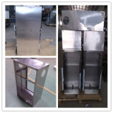 Polishing Staniless Steel Enclosure