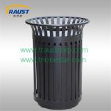 metal dustbin