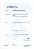 ISO14001:2004 of NEITABOND aluminum composite panel