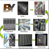 The production process for conveyor belt mesh