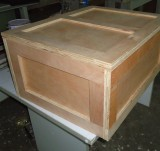 small woden box packing