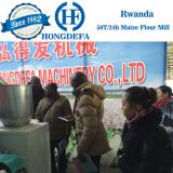 Rwanda client 30T maize mill