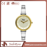 Fashion Folding Clasp Quartz Stainless Steel Wrist Watch