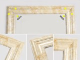 Marble moulding installnation corners