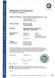 Drywall sander CE certification