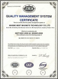 QUALITY MANAGEMENT SYSTEM CERTIFICATE OF MAGNETS