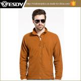 Esdy Lightweight Tactical Autumn Windproof Breathable Grid Fleece Jacket Coat