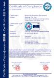 CE/ECM CERTIFICATE