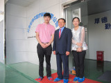 CEO Hoon-Sang Cho from Korea visit us